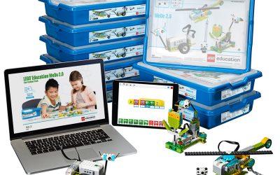Za najmlajše robotike imamo LEGO WeDo
