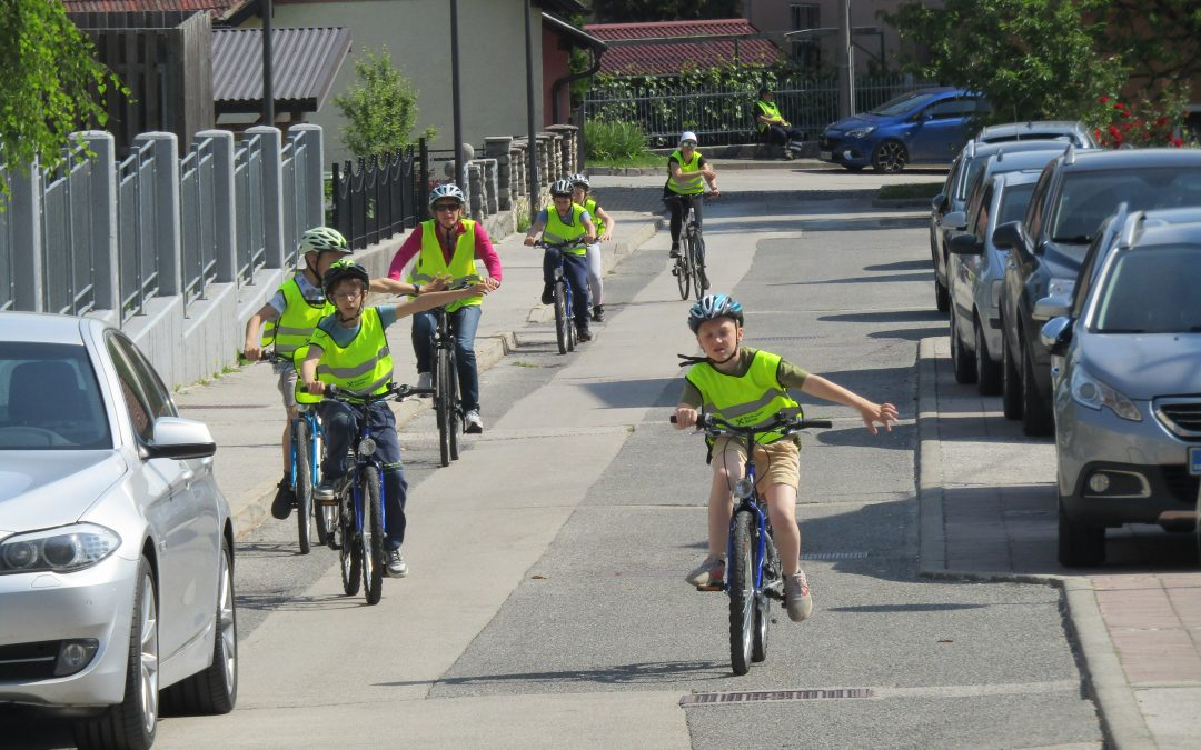 Petošolci opravili kolesarski izpit
